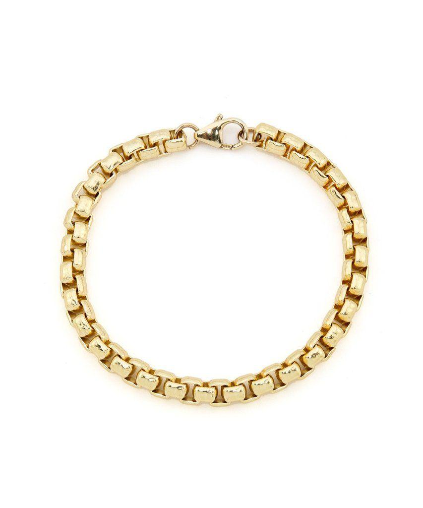 Square link luxury gold bracelet lac tay pinterest squares