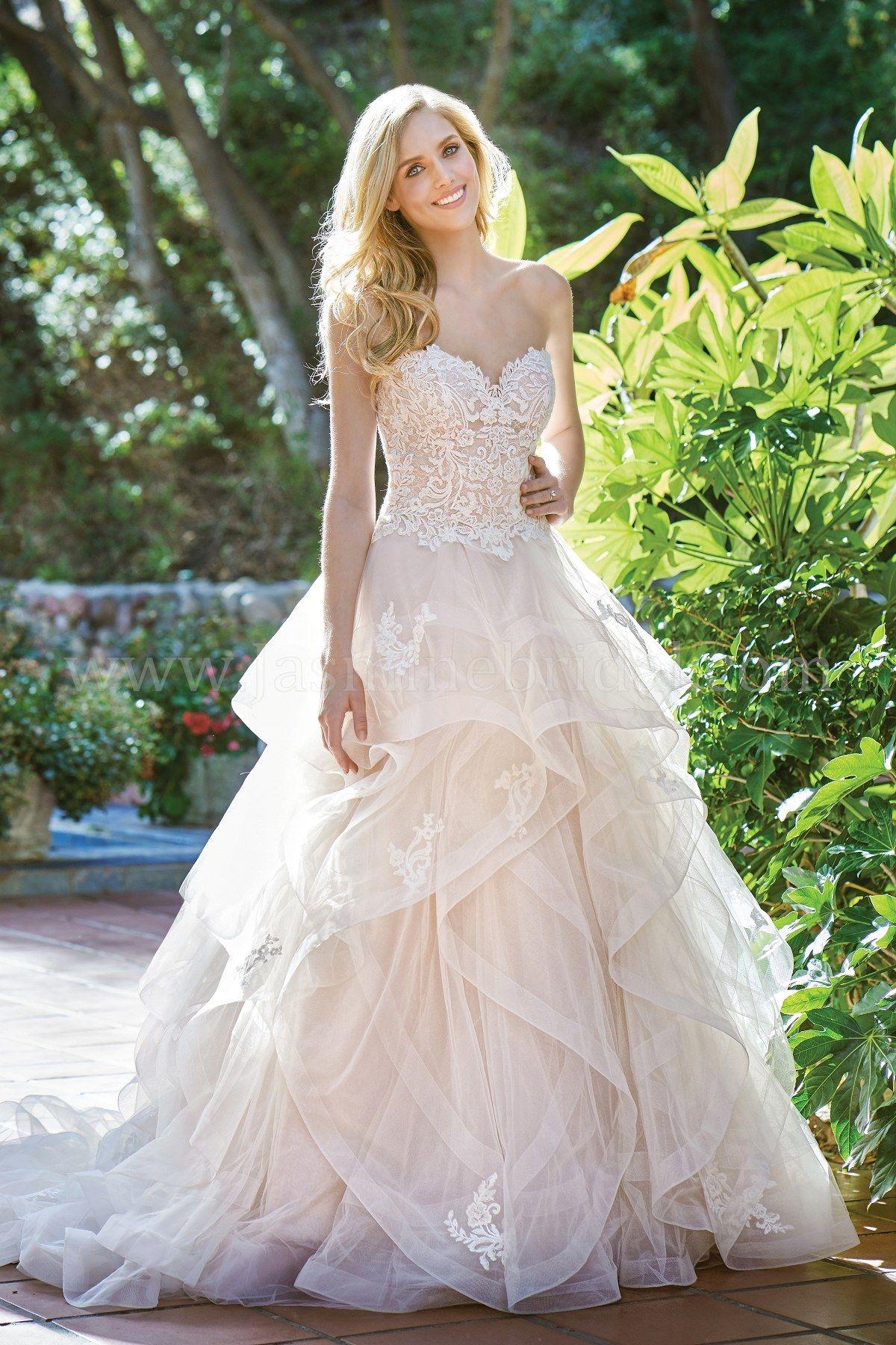 Jasmine Bridal Wedding Dress | Beautiful Wedding Dress | F201068 ...