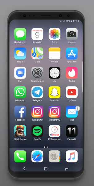 Pin En Download Android Games Eleven Ui Icon Pack V100