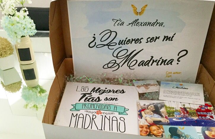 Regalos Originales Para Mi Madrina.Idea Para Pedir Que Sea Madrina De Bautizo Godmother