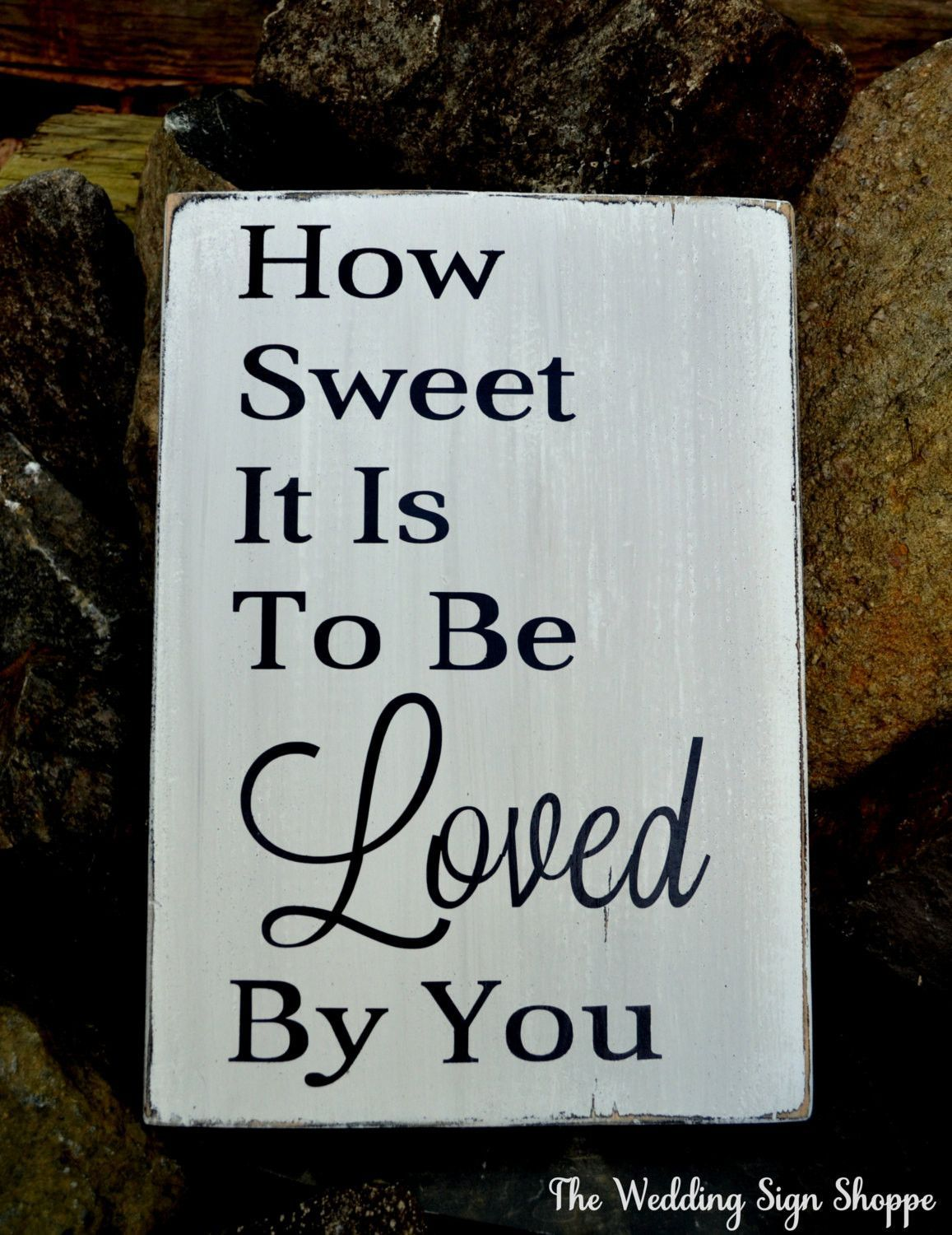 Love Plaques Quotes Love Wedding Sign Wedding Gift Barn Beach Rustic Outdoor Lake