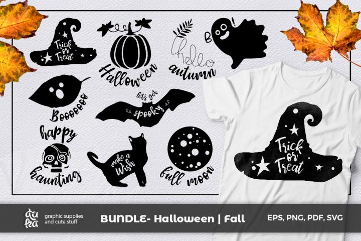 BUNDLE Halloween Fall SVG Halloween, Fall, Hello autumn