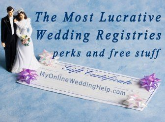 Top 3 most lucrative wedding registries couples wedding and wedding wish i had seen this before i registered top places to register based junglespirit Gallery
