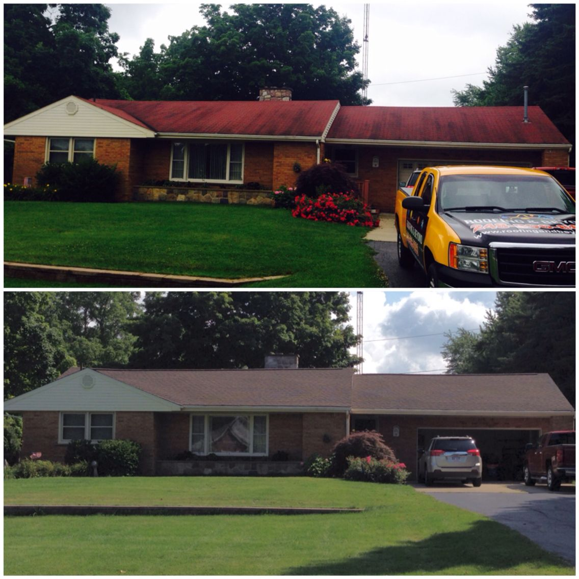 Best Old Roof Replaced With New Gaf Timberline Dimensional 400 x 300