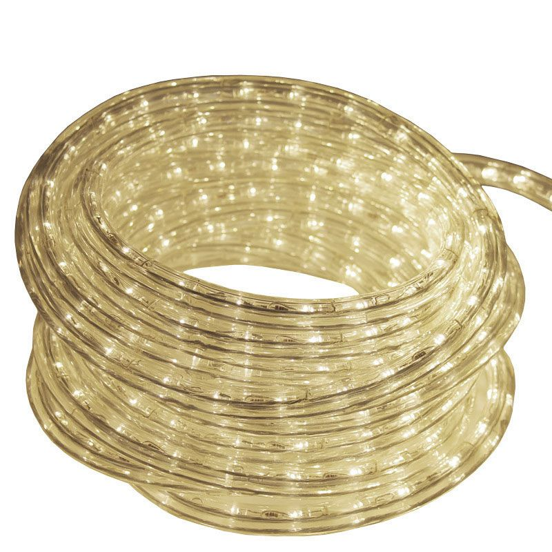 50ft Reel 12v Led Dimmable Warm White Rope Light Ledropekits 12v Ww Rope Light Led Rope Lights 12v Led