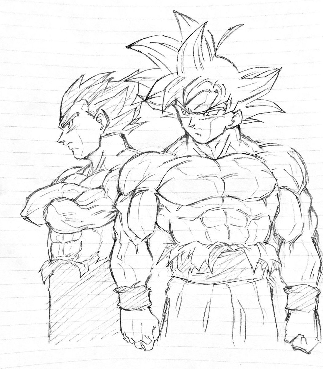 Goku Ultra Instinct Coloring Pages Coloring Pages 2019