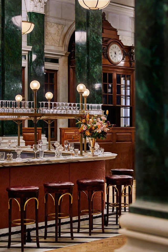 Bar Style: Hotels and Members Clubs