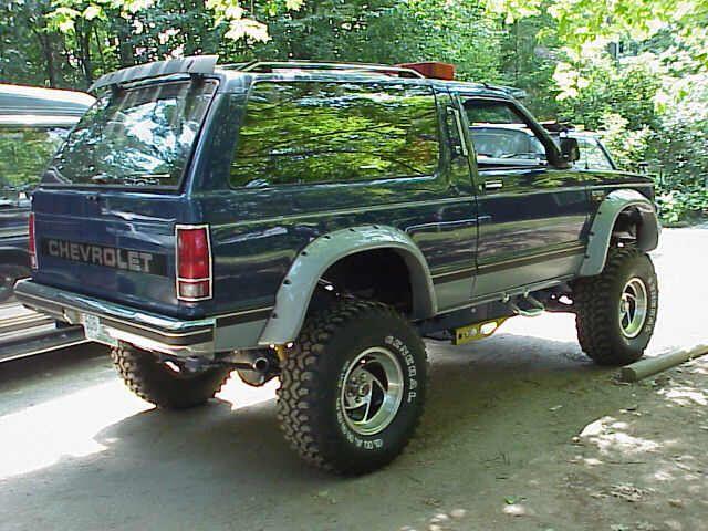 Image From Http Home Comcast Net Mjkacz Images Nick2 Jpg Chevrolet 4x4 Chevy Trailblazer Old Pickup Trucks