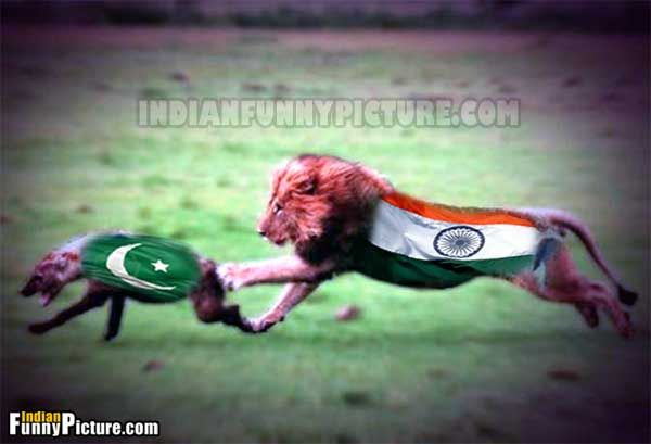 India vs Pakistan Funny Images and Pictures Funny Fight War