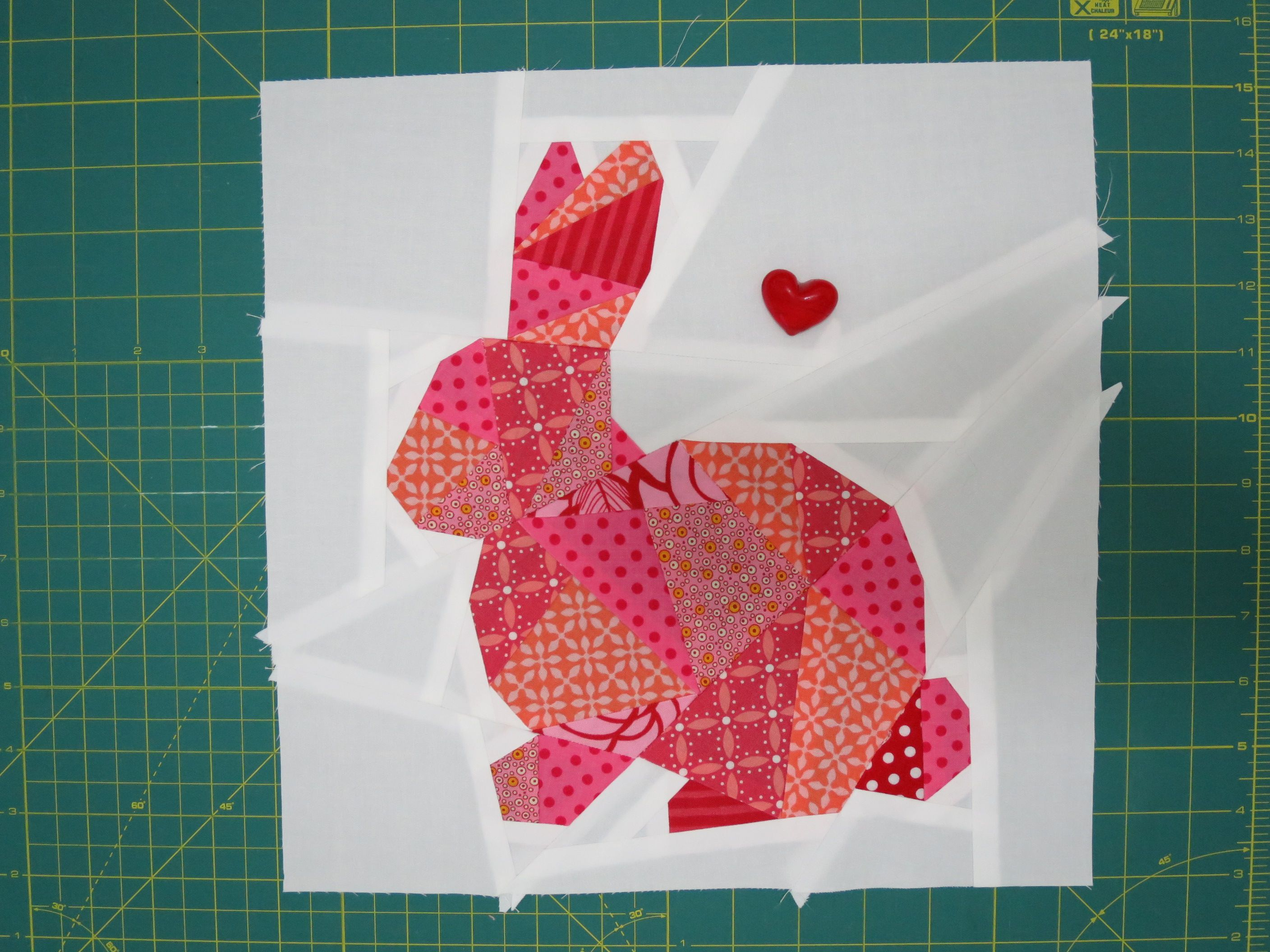 Bunny S Friends Part 1 Foundation Paper Piecing Paper