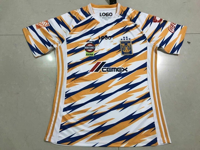 c7b748033 18-19 Thai Quality With Logo Tigres 3rd Away Thai Quality Soccer Jersey