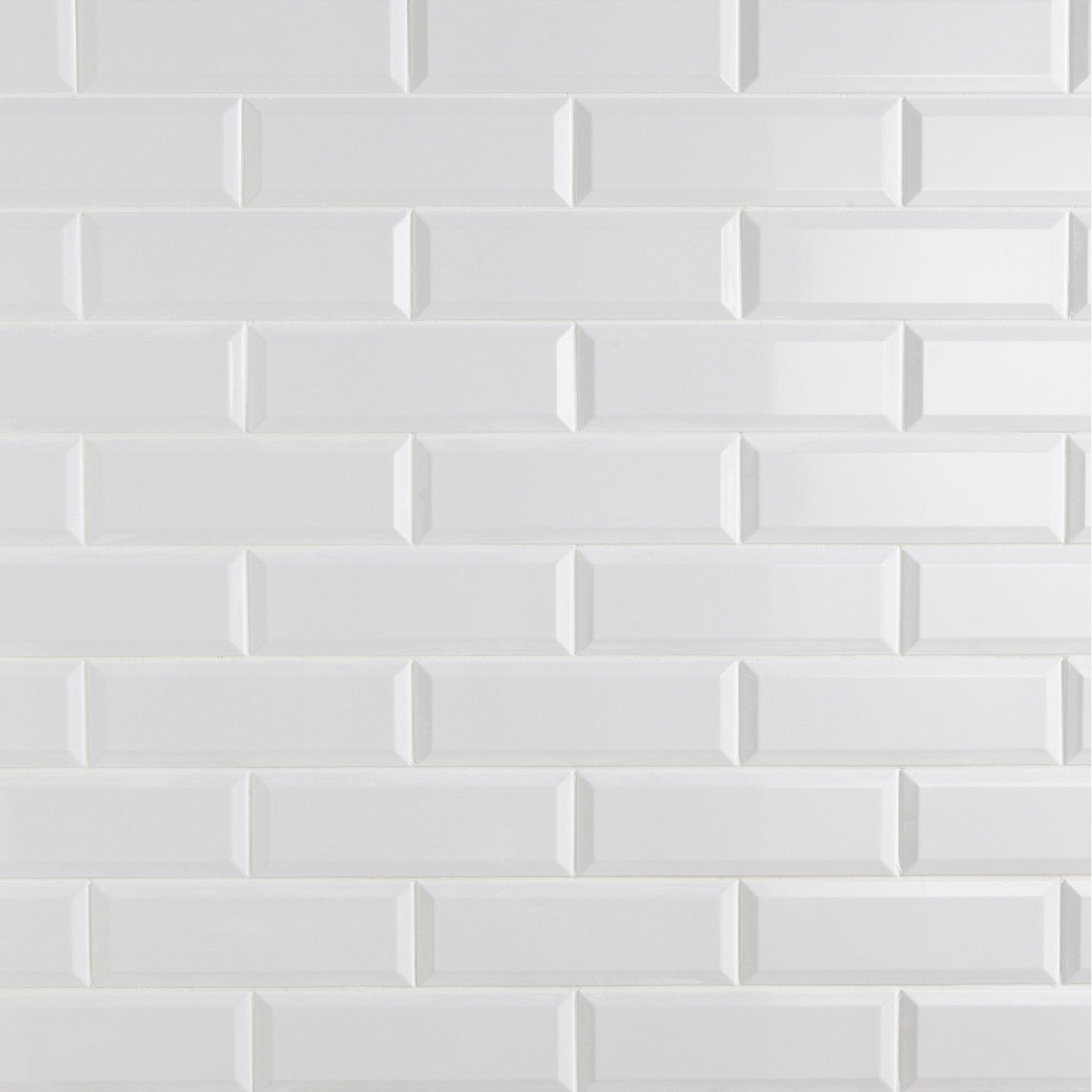 Destination du carrelage mur aspect mati re les blancs mati re fa ence cafe metro tiles - Carrelage metro salle de bain ...