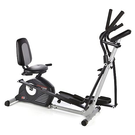 Proform Hybrid Trainer Elliptical And Recumbent Bike With 2 Workout Dvds Hsn Exercise Bikes Biking Workout Recumbent Bike Workout