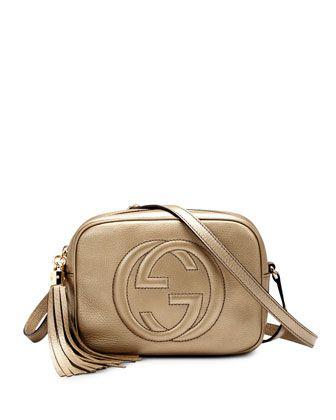 8a240afe1a02 Soho Metallic Leather Disco Bag Gold in 2019 | Handbags That Take My ...