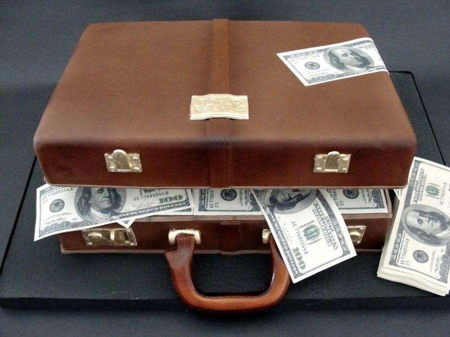 Briefcase And Money | Graduation | Pinterest | Briefcases, Chocolate ...