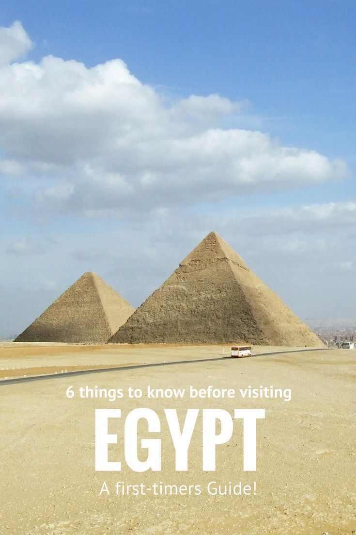 6 Things to Know before Visiting Egypt | Carpe Diem OUR Way Travel