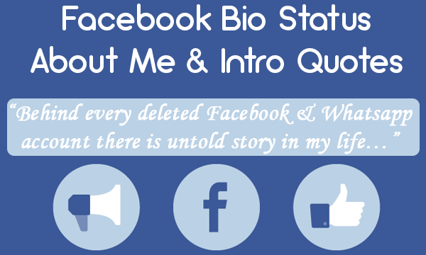 Bio On Facebook Quotes – Quotes of the Day