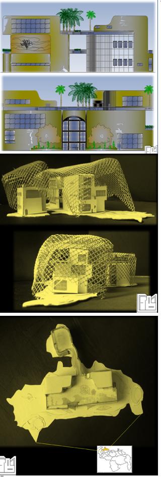 PABELLÓN FALCÓN: Construcción 4530m², distribuidos en tres niveles más mezanine Terreno de 4556m²  Espacios: Áreas de Exposiciones, Galerías, Auditorio, Sala Multimedia, Tiendas, Restaurante, Cocina, Oficinas Diseño para feria representando al Estado Falcón, Venezuela  Contacto:  fmcbdesigns@hotmail.com      fmcbdesigns@gmail.com  Instagram: fmcbdesigns        Pinterest: fmcbdesigns Facebook: fmcbdesigns  #fmcbdesigns #interiordesign #decor #architecture #interiorismo #disenointerior…