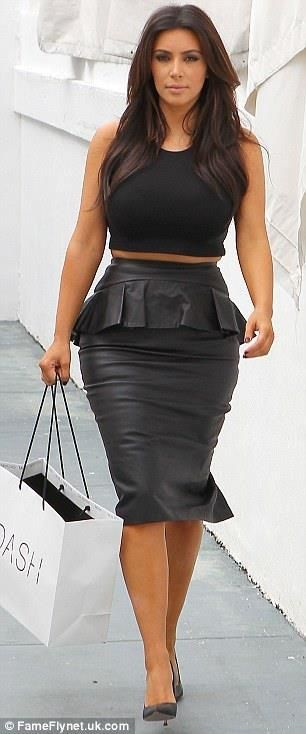Kim K-this whole outfit!