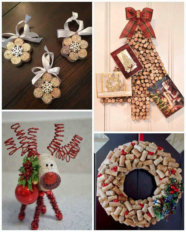 Wine cork christmas craft ideas cork wine and cork crafts for Crafts to do with corks