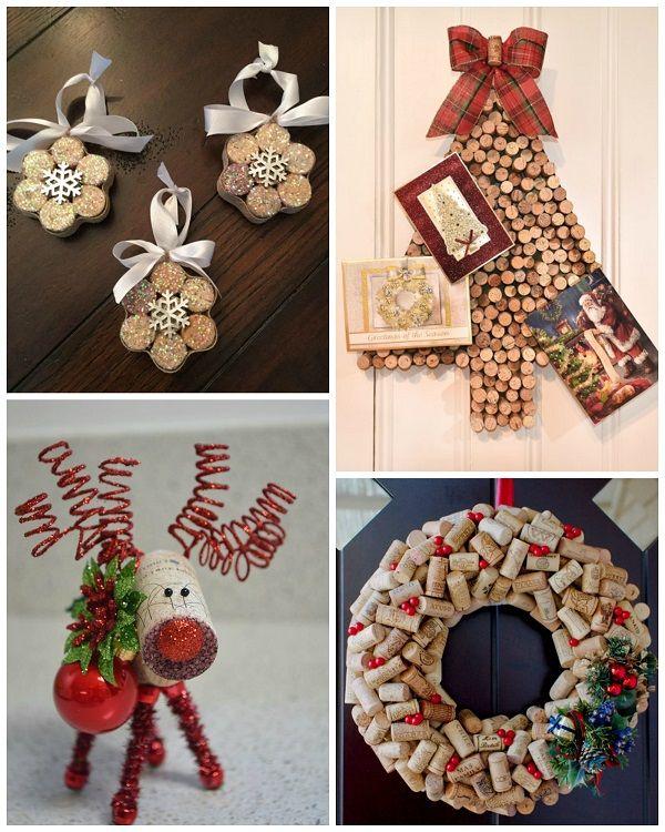 Wine cork christmas craft ideas cork wine and cork crafts for Wine cork ideas