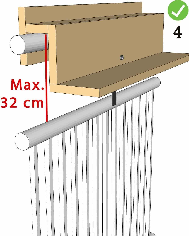 Measurement instructions Balcony Railing-Goudmethout.nl