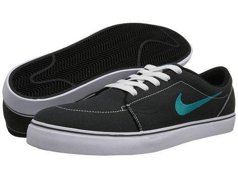 Nike SB Satire Canvas Dark Grey/Dark Grey/Dark Grey/White - Zappos