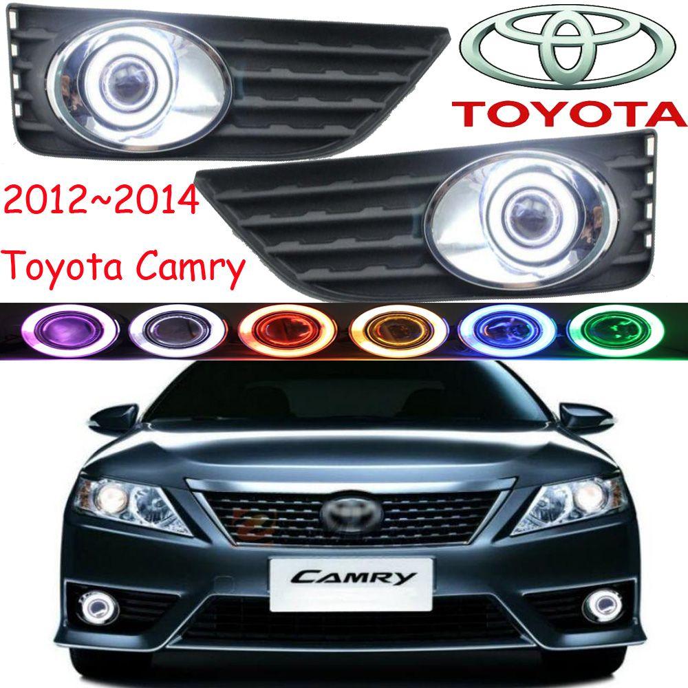 Car Styling Camry Fog Lamp 2012 2014 Chrome Led Free Ship 2pcs Camry Head Light Car Covers Halogen Hid Ballast Camry Affiliate Camry Fog Lamps Car Covers