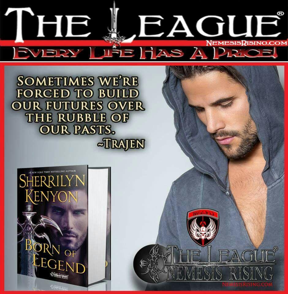 Trajen  Living The League  Pinterest  Sherrilyn Kenyon, Dark Hunter And  Books
