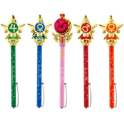 Sailor Moon Star Pointer Ballpoint Pen Mercury Mars Jupiter Venus Cutie Moon Rod