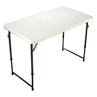 42 In Fold In Half Adjustable Table Northwest Territory Adjustable Height Table Camping Table Adjustable Table