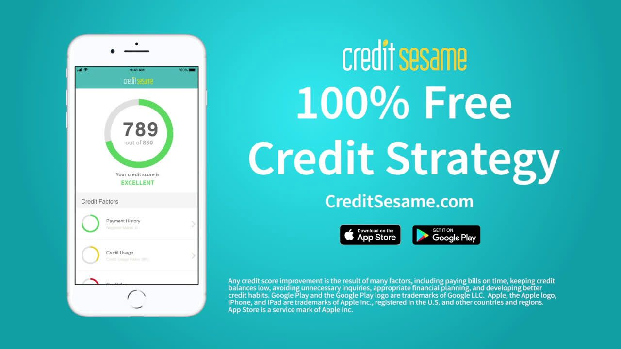 Credit Sesame Ready To Improve Your Finances Ad Commercial On