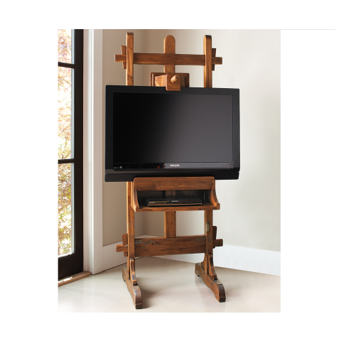 Easel TV Stand From Napa Style. You Could Hang A Painting Over It To Hide