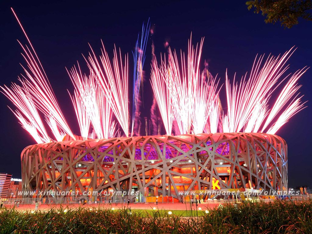 Beijing Olympic Stadium 2008 , China