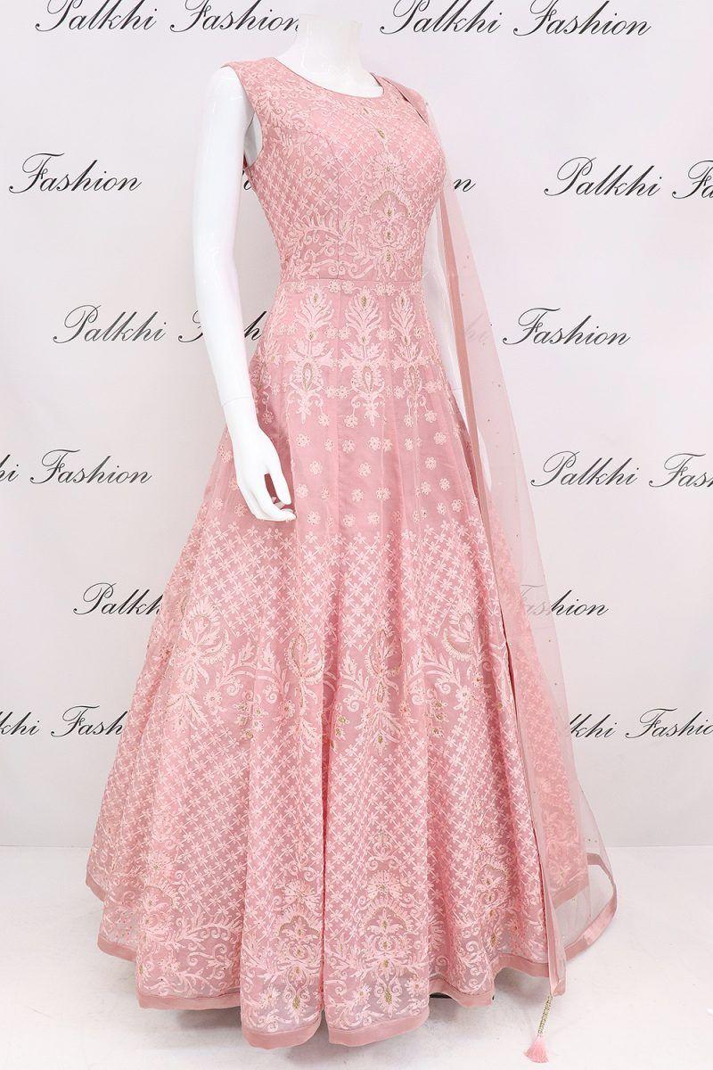 Trendy light pink designer outfit with elegant handwork also in rh pinterest
