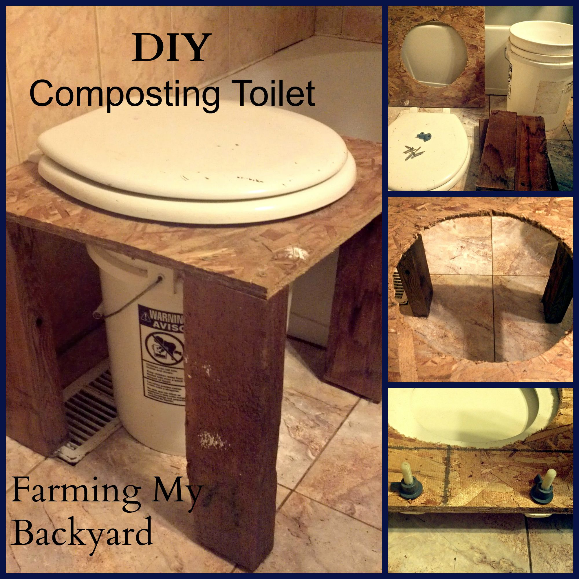 How To Build An Outdoor Bathroom: How To Make Your Own DIY Composting Toilet