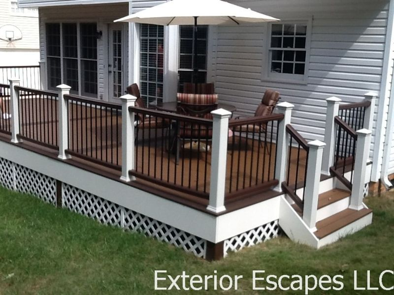 Depending On The Railing Style, #1 Prime MCA (or Comparable) Pressure  Treated Or Kiln Dried Lumber Is Also Used In Our Standard Wood Decking To  Ensure Sound ...
