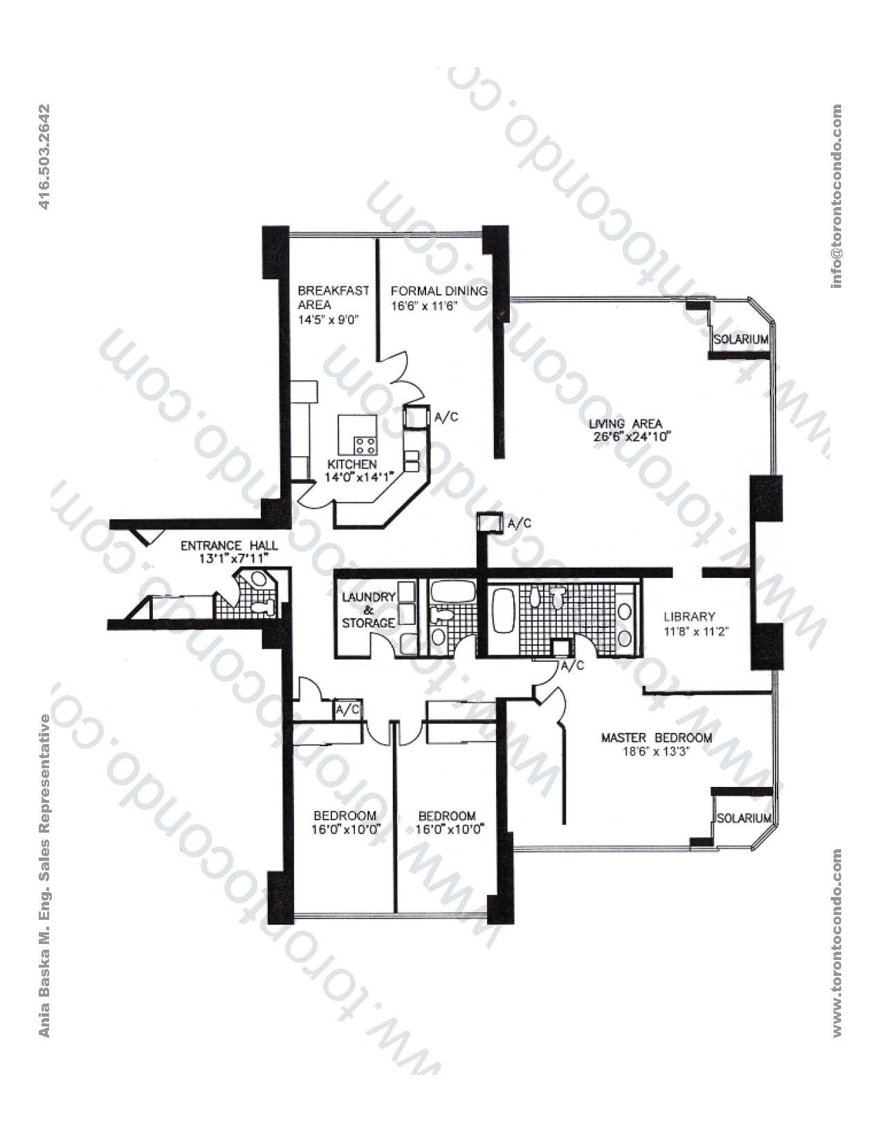 Palace Pier Toronto On Toronto Amp Canada Floor Plans