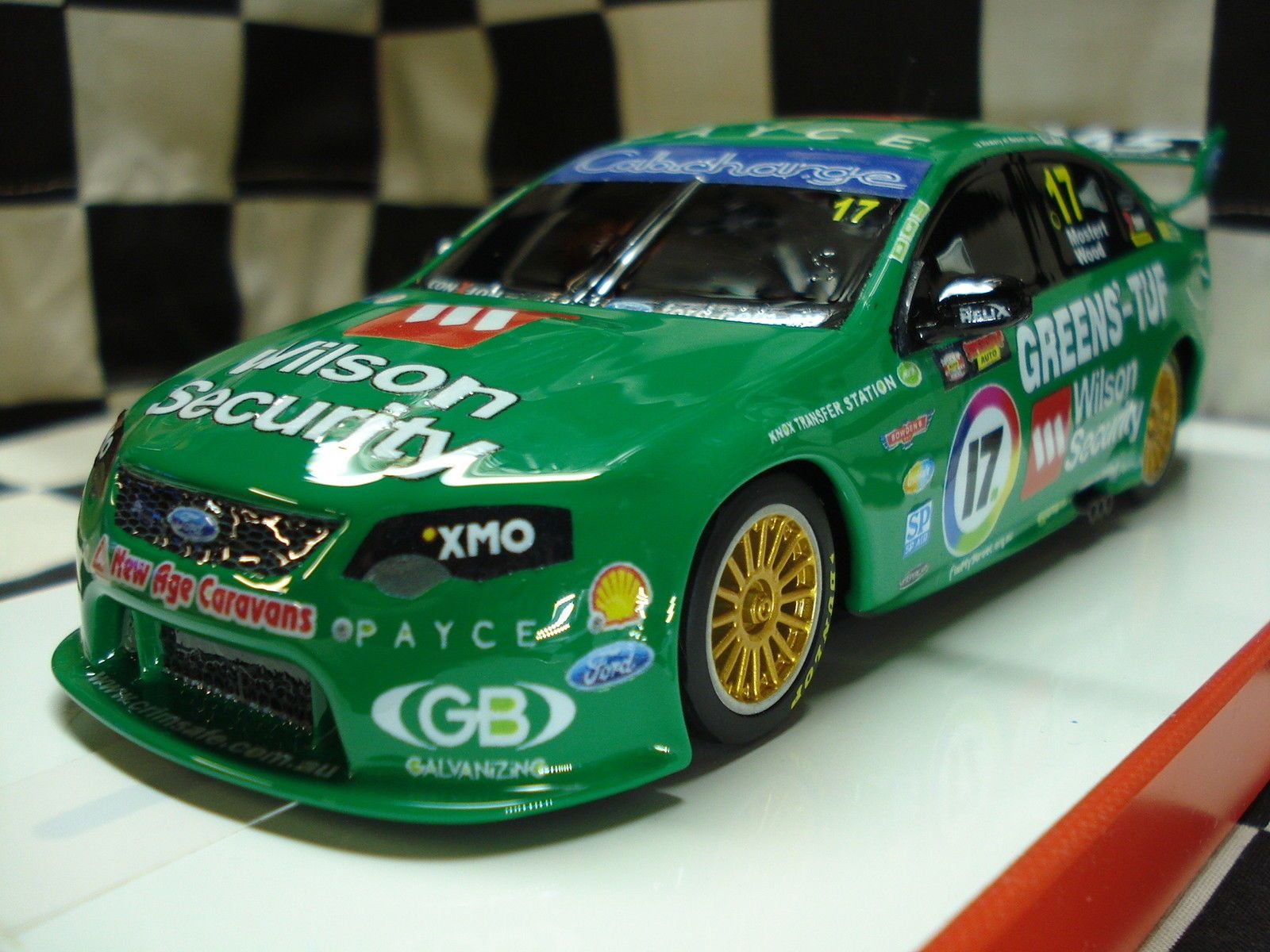 Scalextric 1 32 Ford V8 Supercar Custom Painted Ebay Super Cars