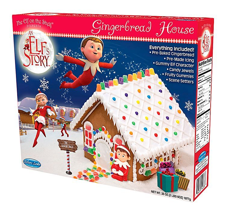 The Elf on the Shelf An Elf's Story® PreBaked Gingerbread