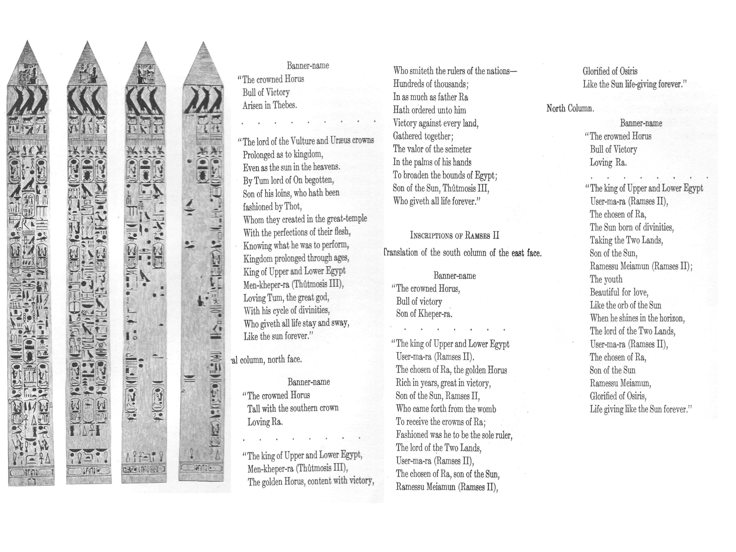 What Does It Mean Chapters Xiv Xv Doents The History Of New York City Obelisk From Its Origins To