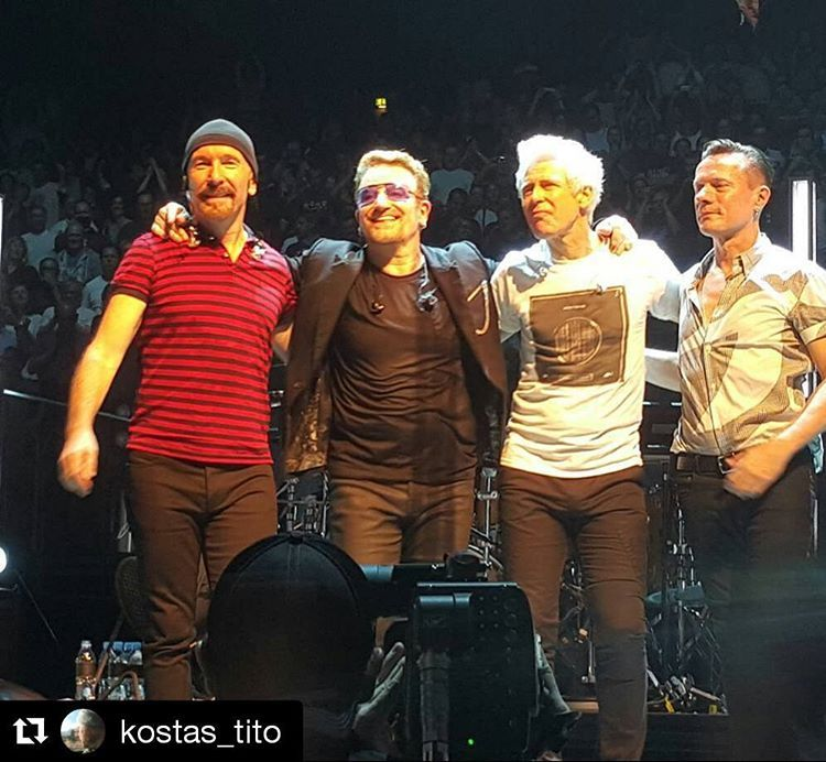 @kostas_tito  #U2 #köln #live