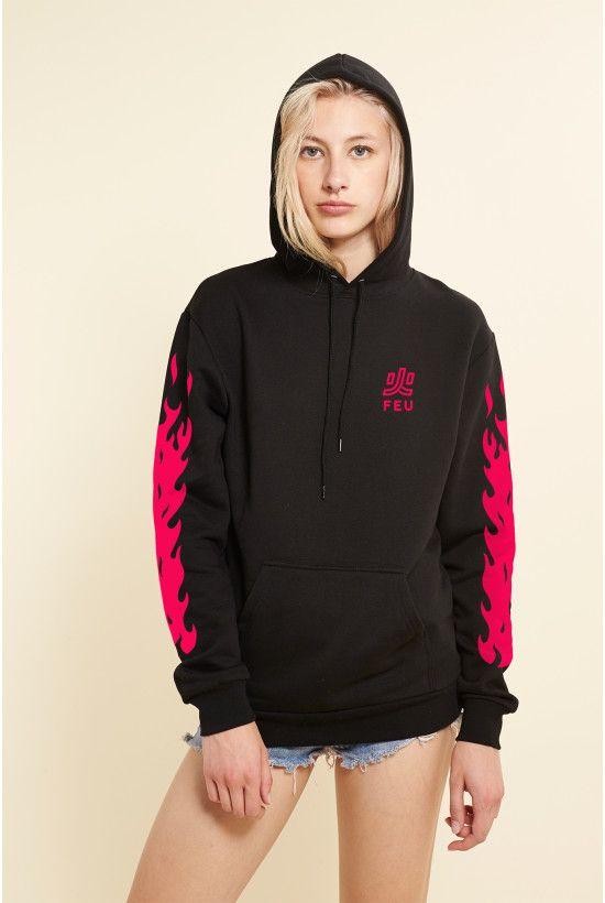 Rad   Sweatshirts Nekflamme - Rad x Nekfeu   Vêtements   Sweatshirts ... 40ba28c8a5a5