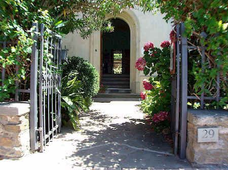 A welcoming entrance