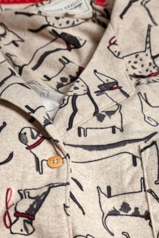 e286648f40 Buy Oatmeal Cosy Dog Print Pyjama Set from the Next UK online shop ...