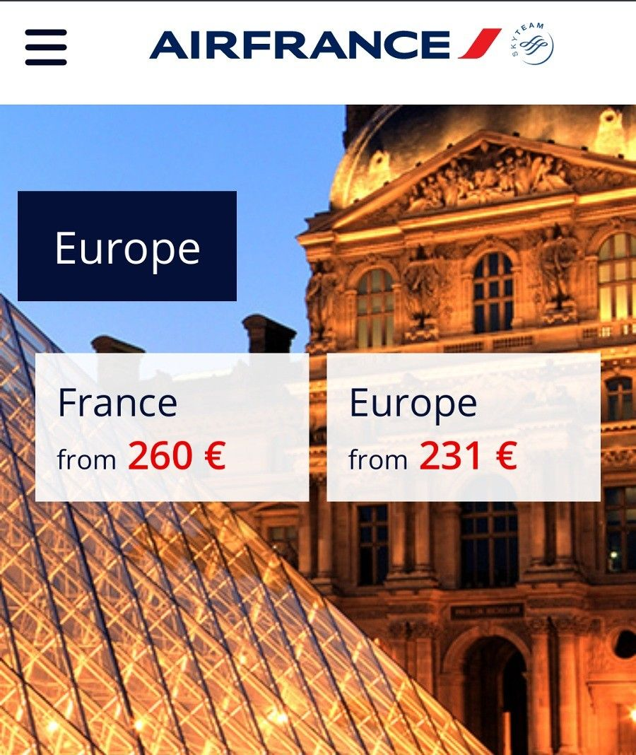 Flights (With images) France europe, Air france, France