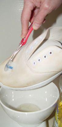 Witte Vans schoonmaken wikiHow
