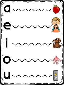 Funtastic Fundational Vowel Extension Posters Fundations Kindergarten Posters Fundations Kindergarten