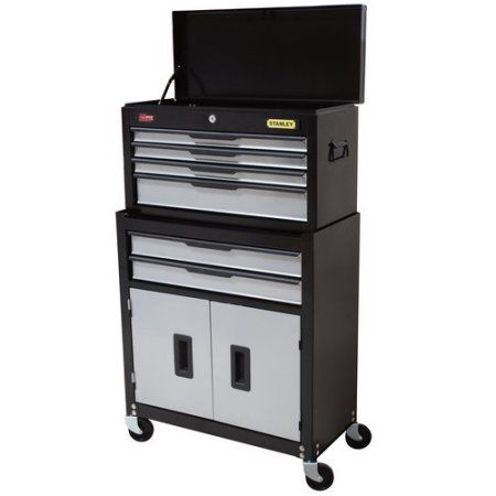 Stanley Professional Tool Chest Cabinet Combo 6 Drw Black Tool Chest Cabinet Manufacturers Professional Tools