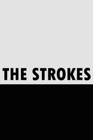 The strokes plain logo iphone wallpapers muzik pinterest the strokes plain logo iphone wallpapers thecheapjerseys Images